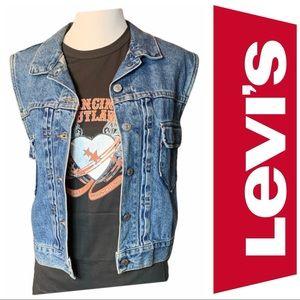 LEVI'S | Vintage Women's Denim Vest Jacket